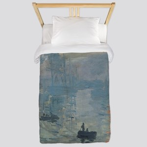 Claude Monet Impression Soleil Levant Twin Duvet