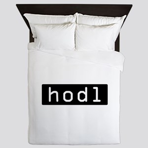 Hodl Cryptocurrency Crypto Bitcoin Eth Queen Duvet