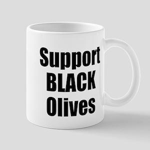 Support Black Olives Mug