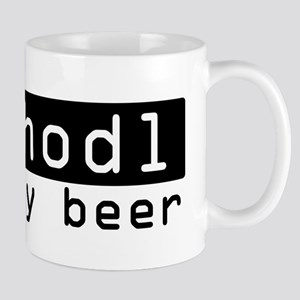 Hodl My Beer, Funny, Cute, Bitcoin, Hold My B Mugs