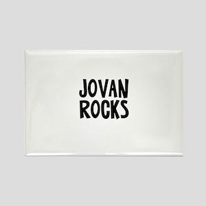 Jovan Rocks Rectangle Magnet
