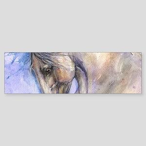 Andalusian horse Bumper Sticker