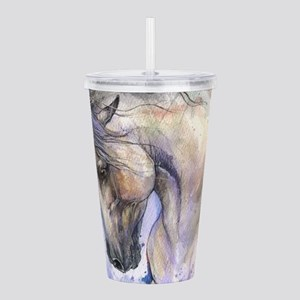 Andalusian horse Acrylic Double-wall Tumbler