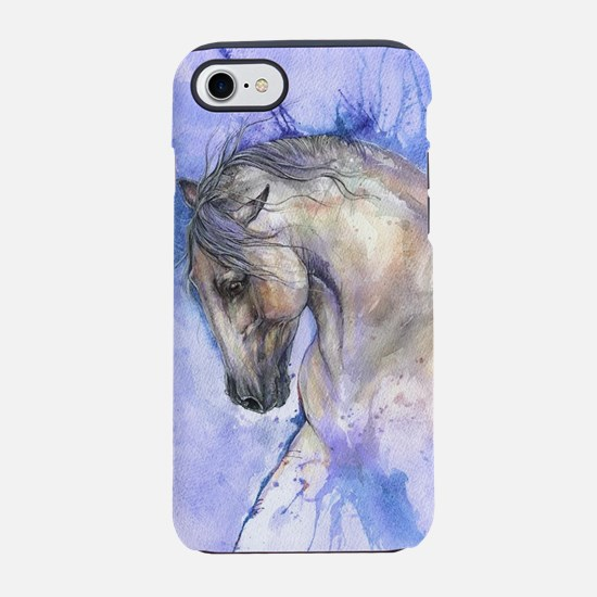 Andalusian horse iPhone 8/7 Tough Case