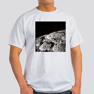 Apollo 10 Moon Craters Ash Grey Space T-Shirt