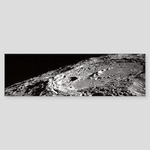 Apollo 10 Moon Craters Bumper Sticker
