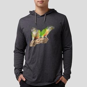 Green Cheek Conure Long Sleeve T-Shirt