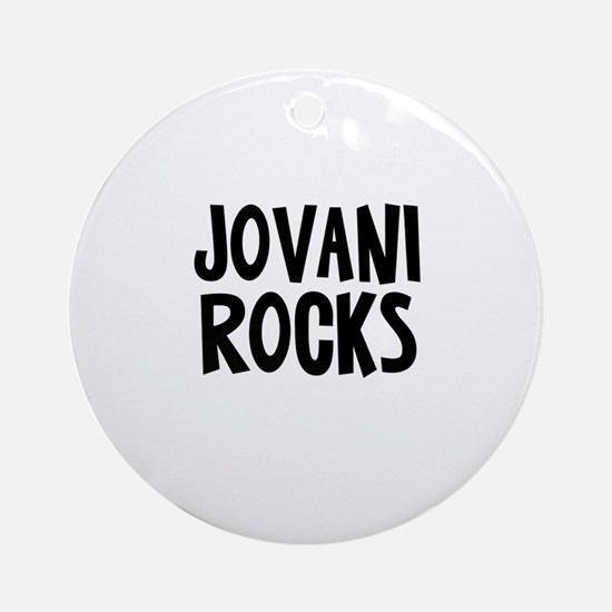 Jovani Rocks Ornament (Round)