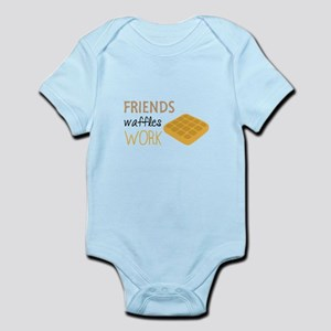 Friends Waffles Work Body Suit