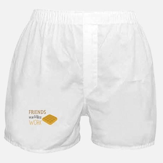 Friends Waffles Work Boxer Shorts