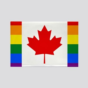Canada Pride Rainbow Flag Magnets