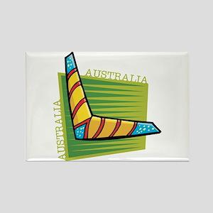 Boomerang Rectangle Magnet