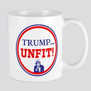 Trump is the unfit candidate Mugs