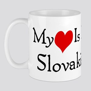My Heart Is In Slovakia Mug