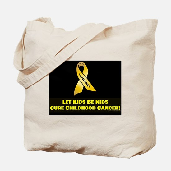 Unique Childhood cancer awareness Tote Bag