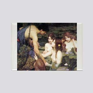 Hylas and the Nymphs Magnets