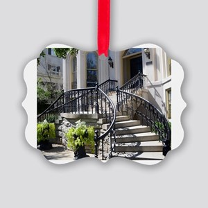 Grand Staircase Picture Ornament