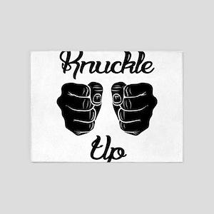 Knuckle Up 5'x7'Area Rug