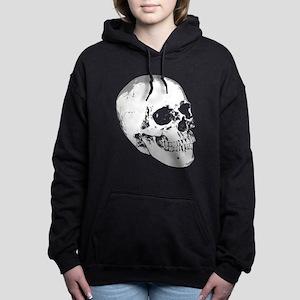 Vintage Skull Women's Hooded Sweatshirt
