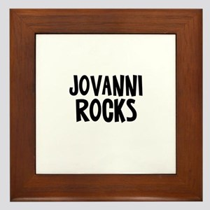Jovanni Rocks Framed Tile