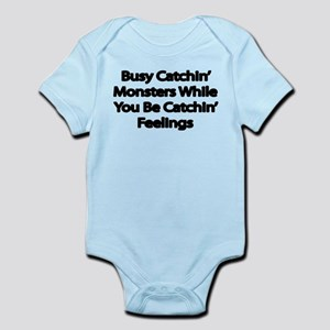 Busy catching Monsters Body Suit