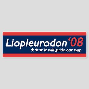Liopleurodon 08 Bumper Sticker