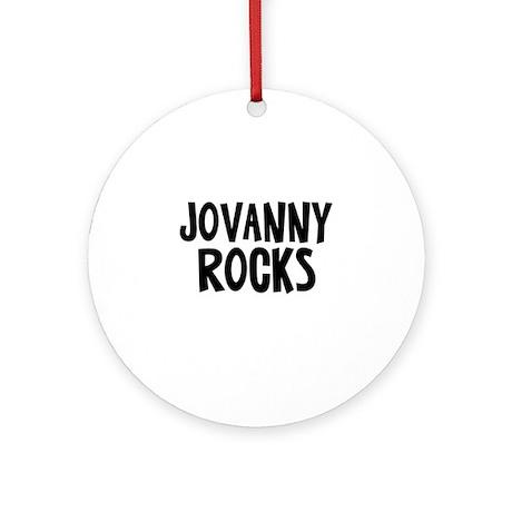 Jovanny Rocks Ornament (Round)