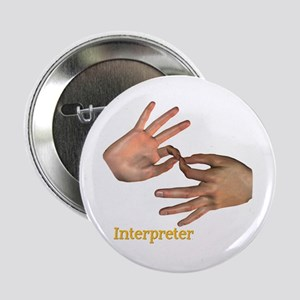 "Male Interpreter 2.25"" Button"
