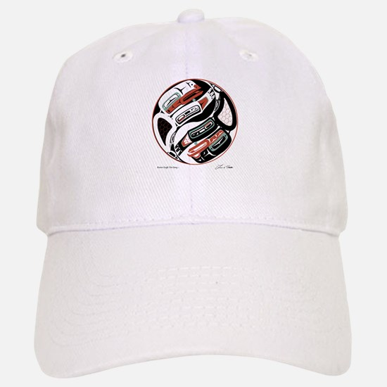 Eagle Raven Yin-Yang Baseball Baseball Cap