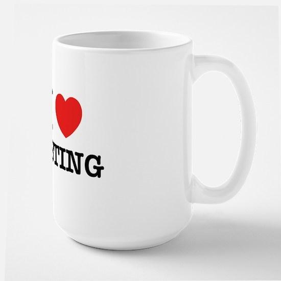 I Love TESTING Mugs