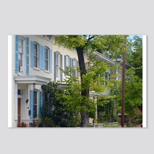 Rainbow Row Postcards (Package of 8)
