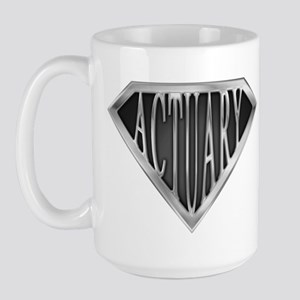 SuperActuary(metal) Large Mug