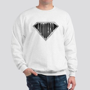 SuperActuary(metal) Sweatshirt