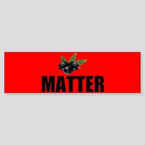 Black Olives Matter Bumper Sticker
