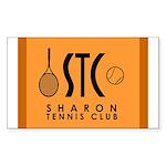 Sharon Tennis Club Logo Sticker