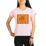 Sharon Tennis Club Logo Performance Dry T-Shirt