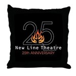 25th Anniversary Throw Pillow