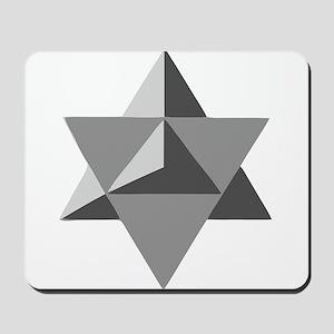 Star Tetrahedron Mousepad