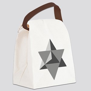 Star Tetrahedron Canvas Lunch Bag
