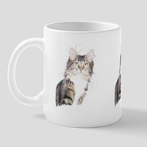 Maine Coon Kitty Mug