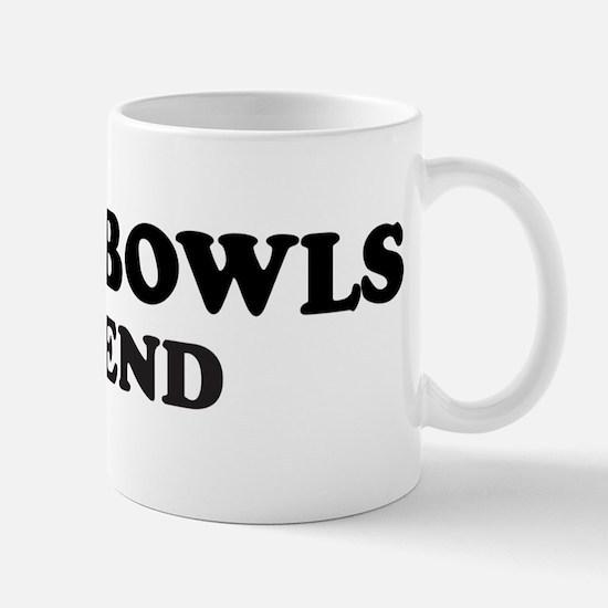 LAWN BOWLS Legend Mug
