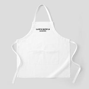 LAWN BOWLS Legend BBQ Apron