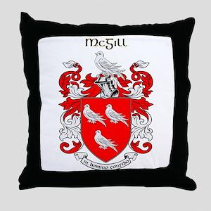 McGill Throw Pillow