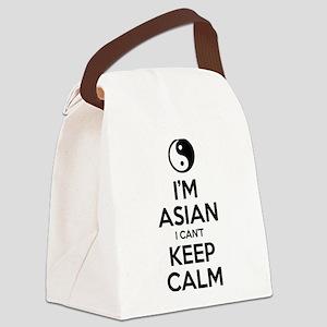 Im Asian I Cant Keep Calm Canvas Lunch Bag