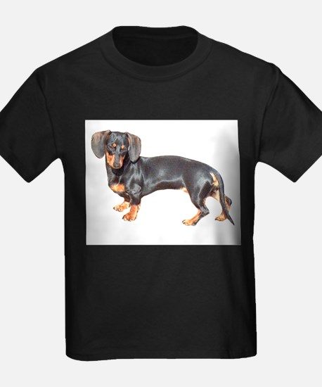 Lily Baby Dachshund Dog Ash Grey T-Shirt