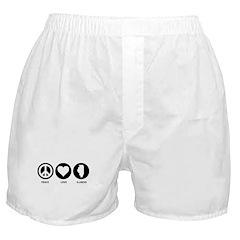 Peace Love Illinois Boxer Shorts