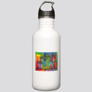 Rainbow cats Stainless Water Bottle 1.0L