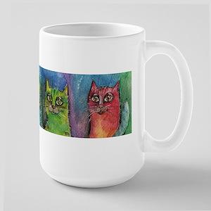 Rainbow cats Mugs