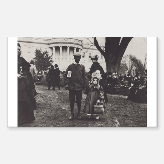 White House Lawn Rectangle Decal
