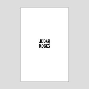 Judah Rocks Mini Poster Print